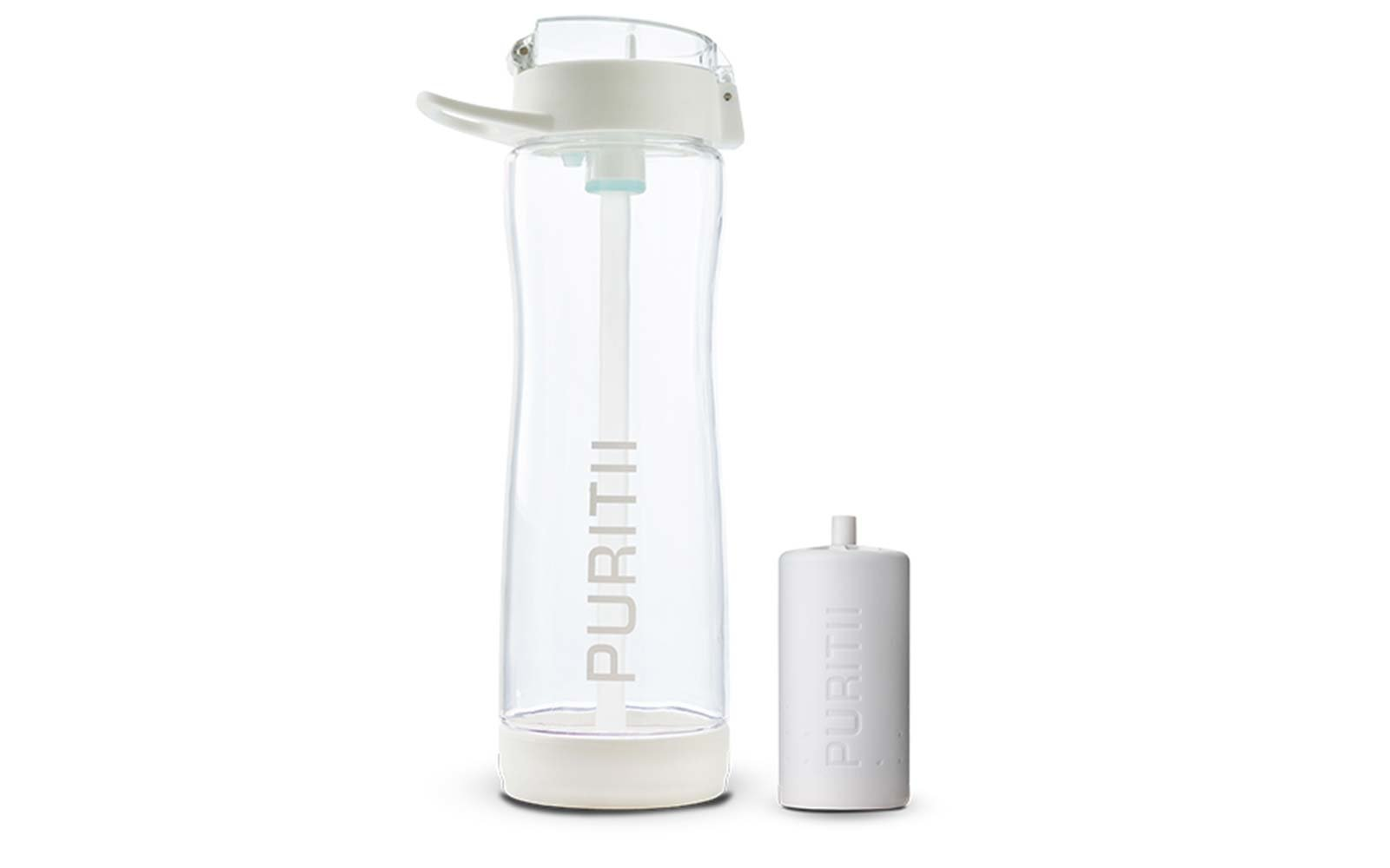 Long Term Travel Packing Puritii water bottle