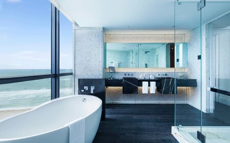 20 hotel bathrooms that will have you spending vacation in the tub