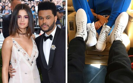 Selena Gomez Rocks a Pair of Shoes Designed by The Weeknd  395a3b623