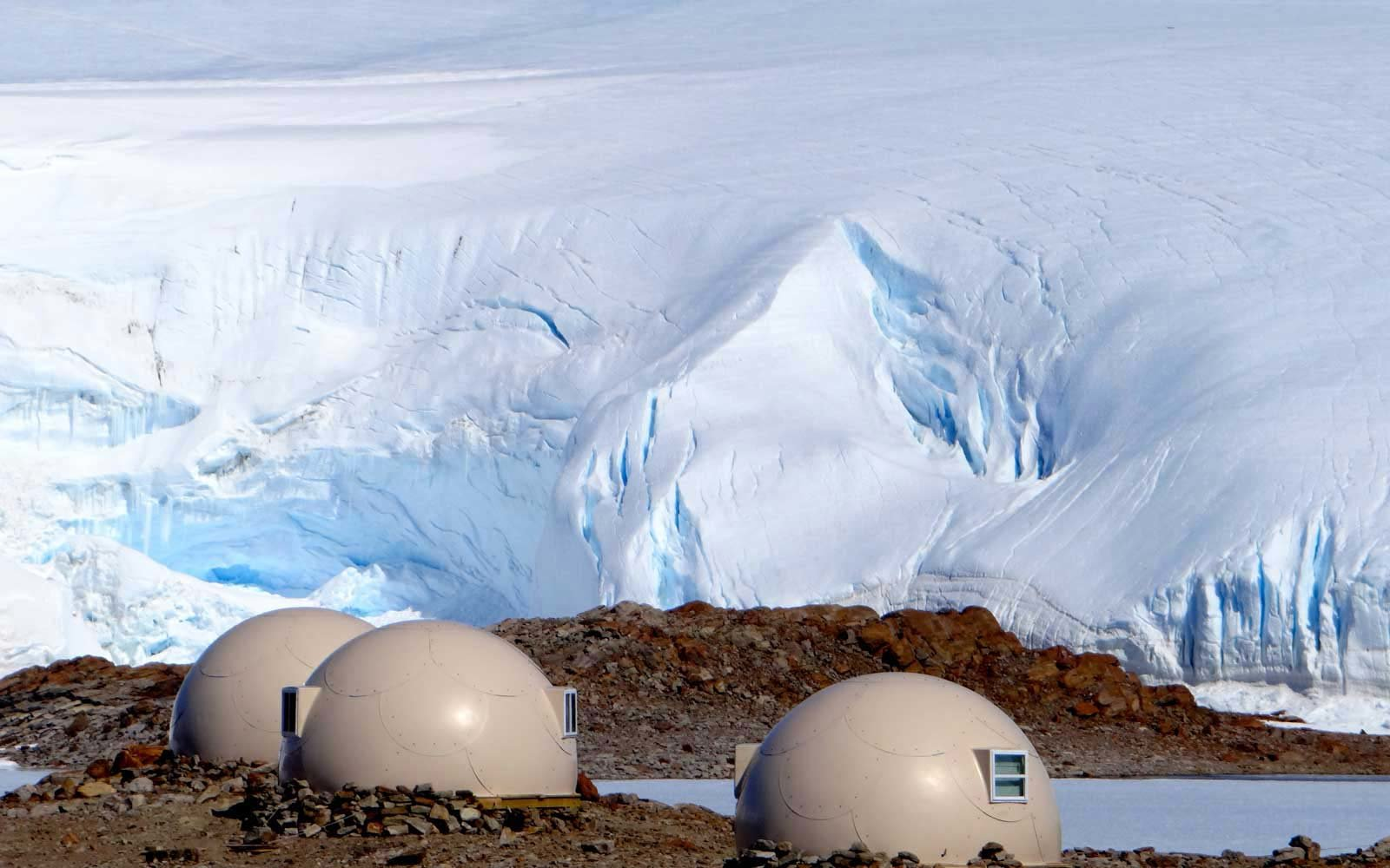 White Desert Luxury Retreats in Antarctica