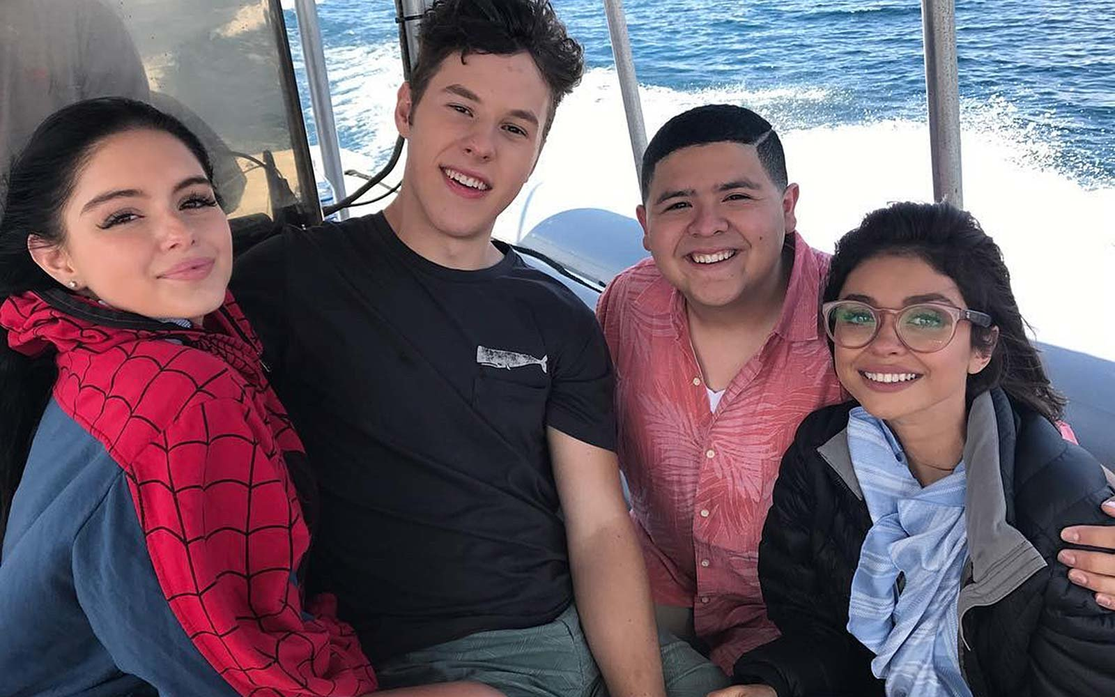 Modern Family TV cast filming Lake Tahoe vacation