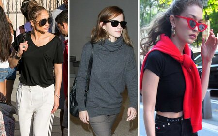 d745bbe9158 20 Pairs of Sunglasses Your Favorite Celebs Can t Stop Wearing