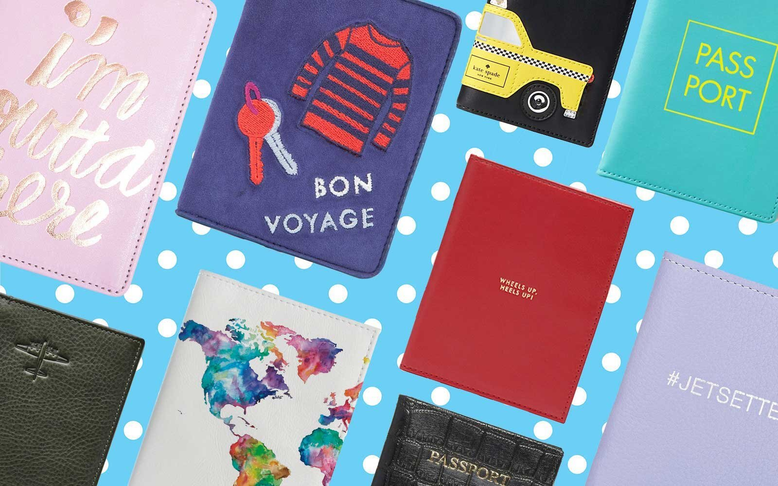 cea663d32da2 11 Cute Passport Covers for Clearing Customs in Style | Travel + Leisure