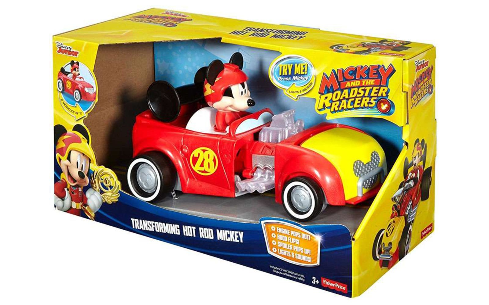 Mickey Roadsters Toy