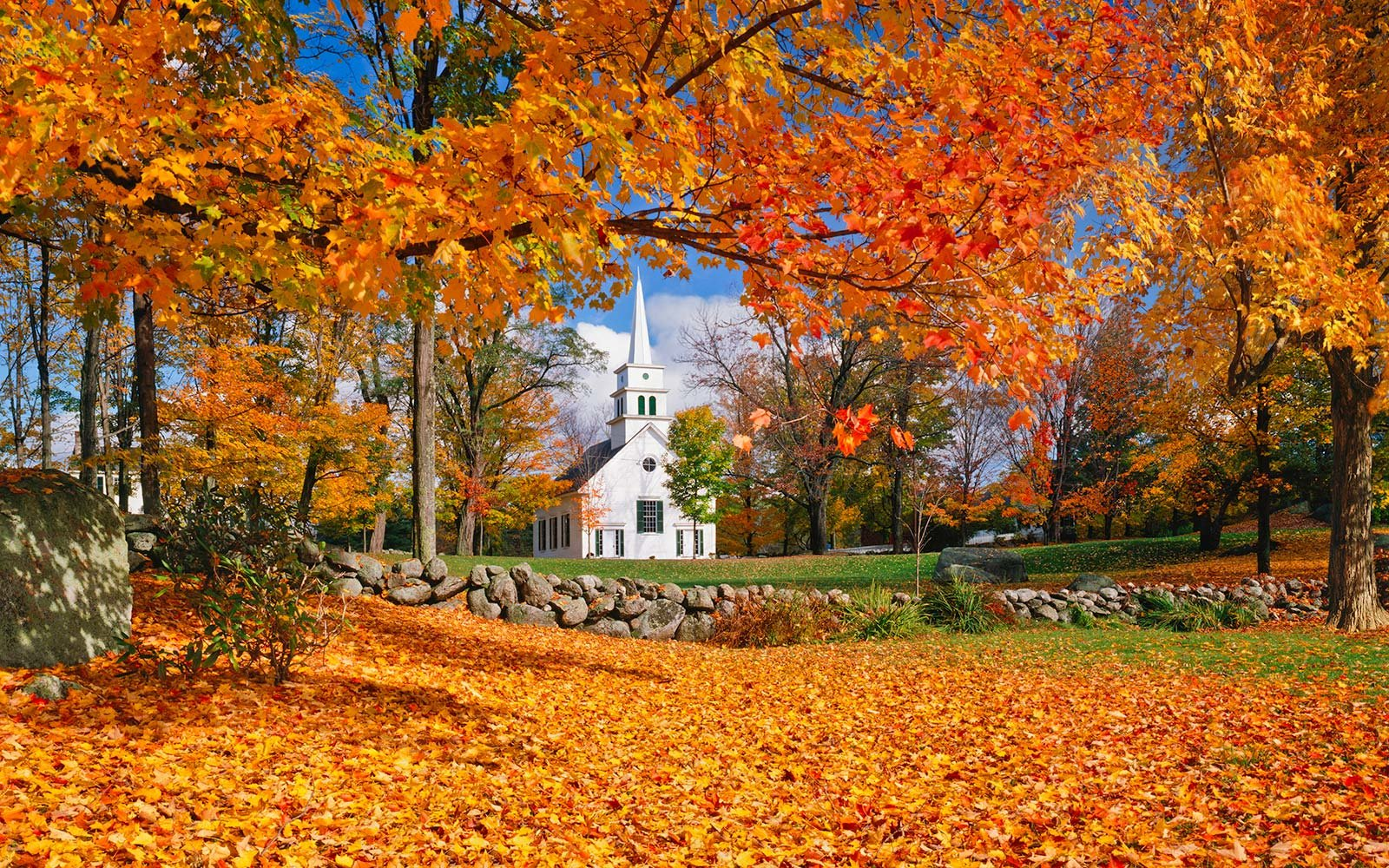 Happiest States in the United States America New Hampshire