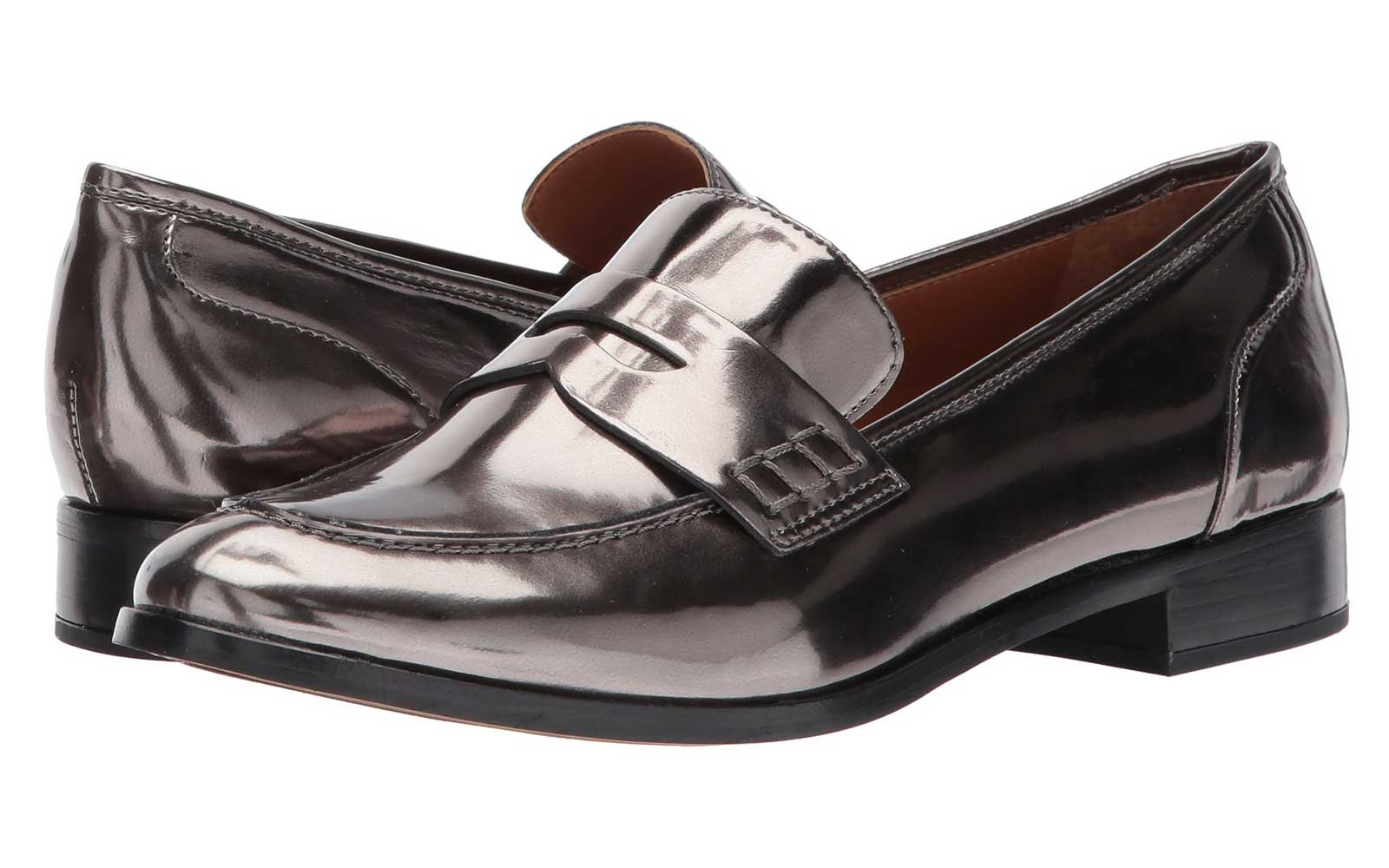 Metallic Loafers for Fall