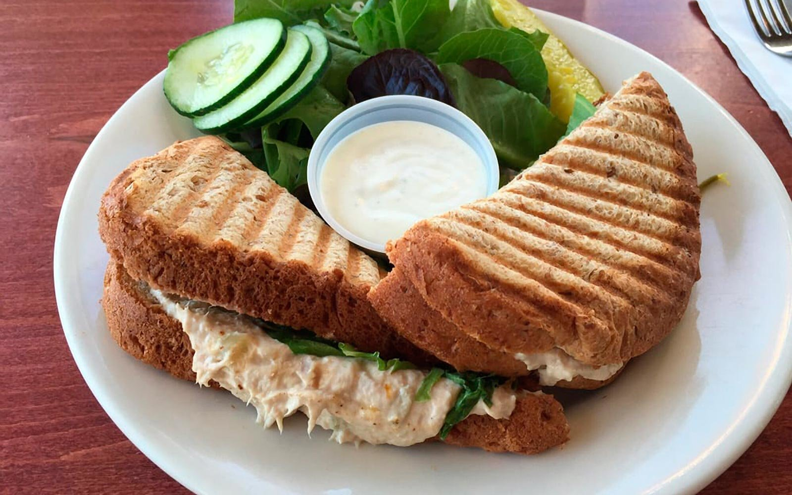 Panini at The Grind in Biloxi Mississippi