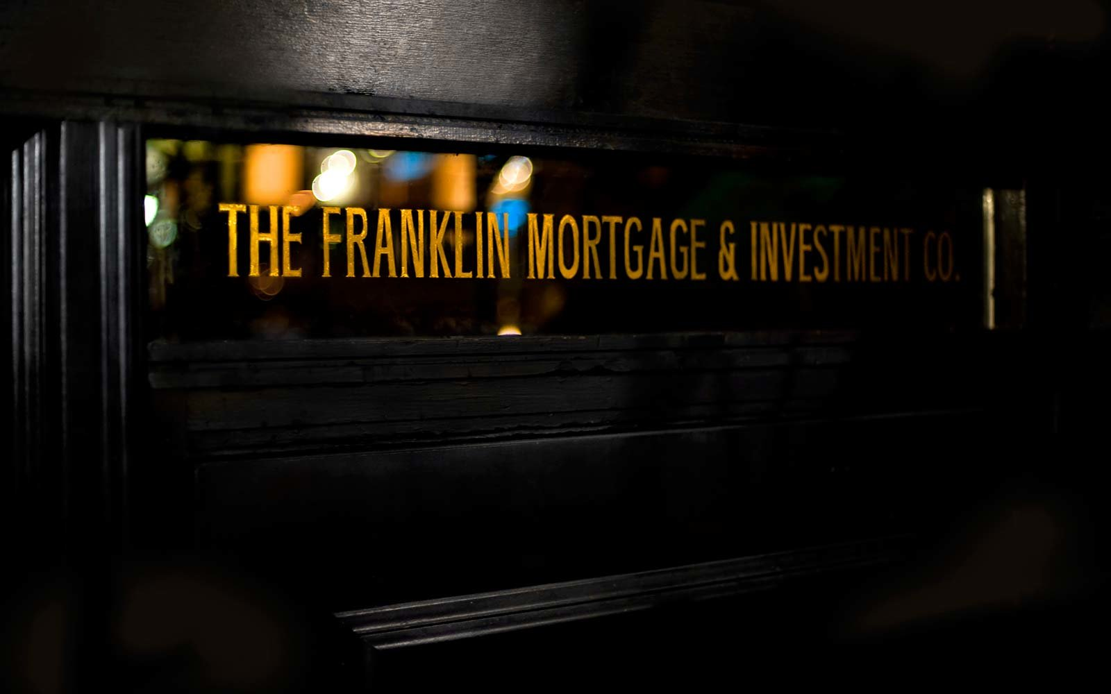Hidden Secret Bars Around the World The Franklin Mortgage and Investment Company Philadelphia