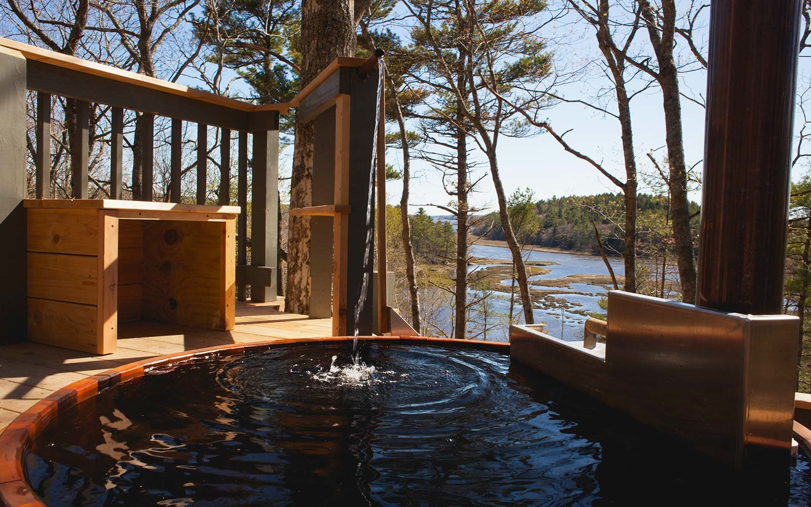 Airbnb Holiday Vacation Rental Treetop Georgetown Maine
