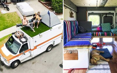 This Man Travels Around the World in a Tricked Out Ambulance