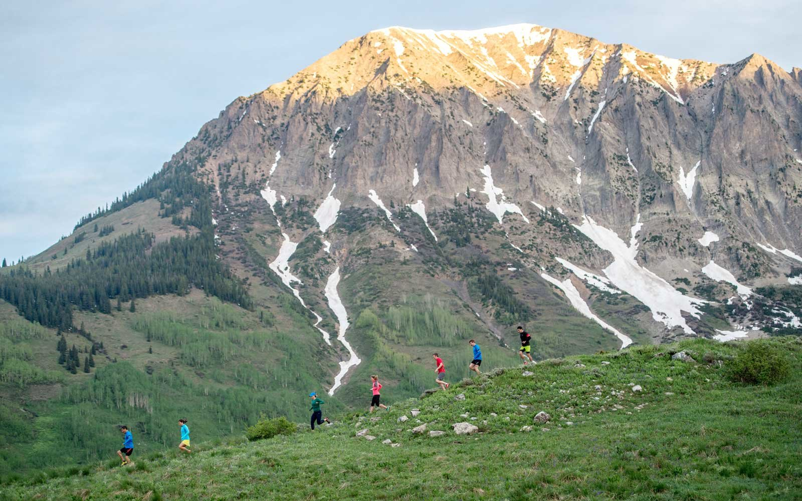 Hiking near Taylor River Lodge with Eleven Experience