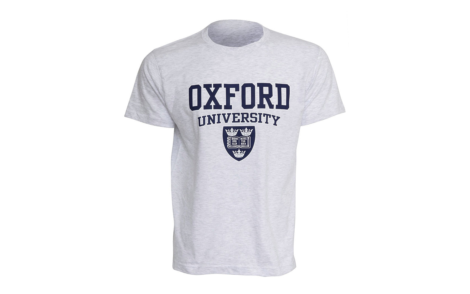 Men's Oxford University Print Short Sleeve T-Shirt