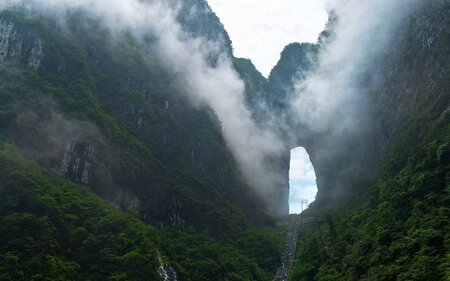 cf152a4f4a5e There s an Actual Stairway to Heaven — With 999 Steps — in China ...
