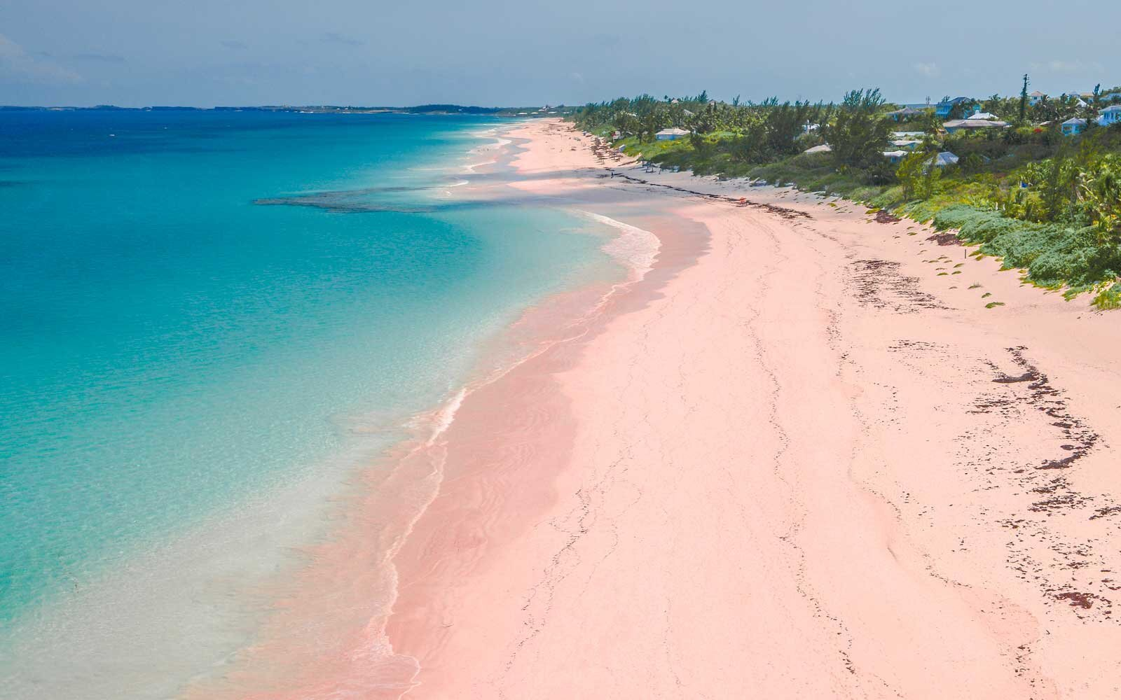 the world's most beautiful pink sand beaches | travel + leisure