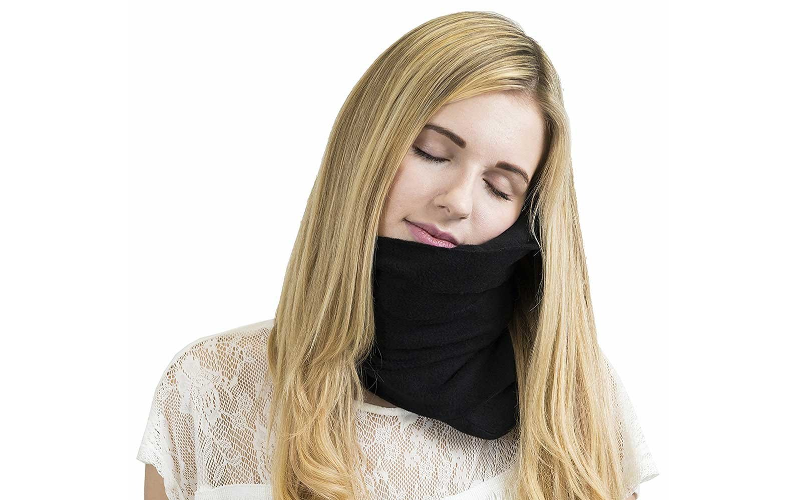 Neck pillow for travelers