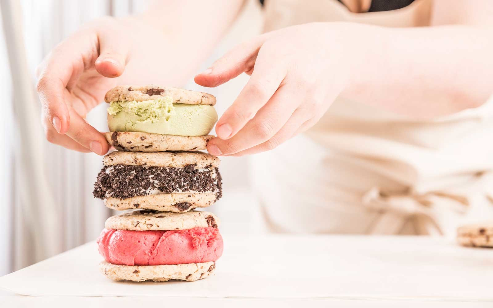 Veganista Vegan Ice Cream Sandwiches in Vienna, Austria