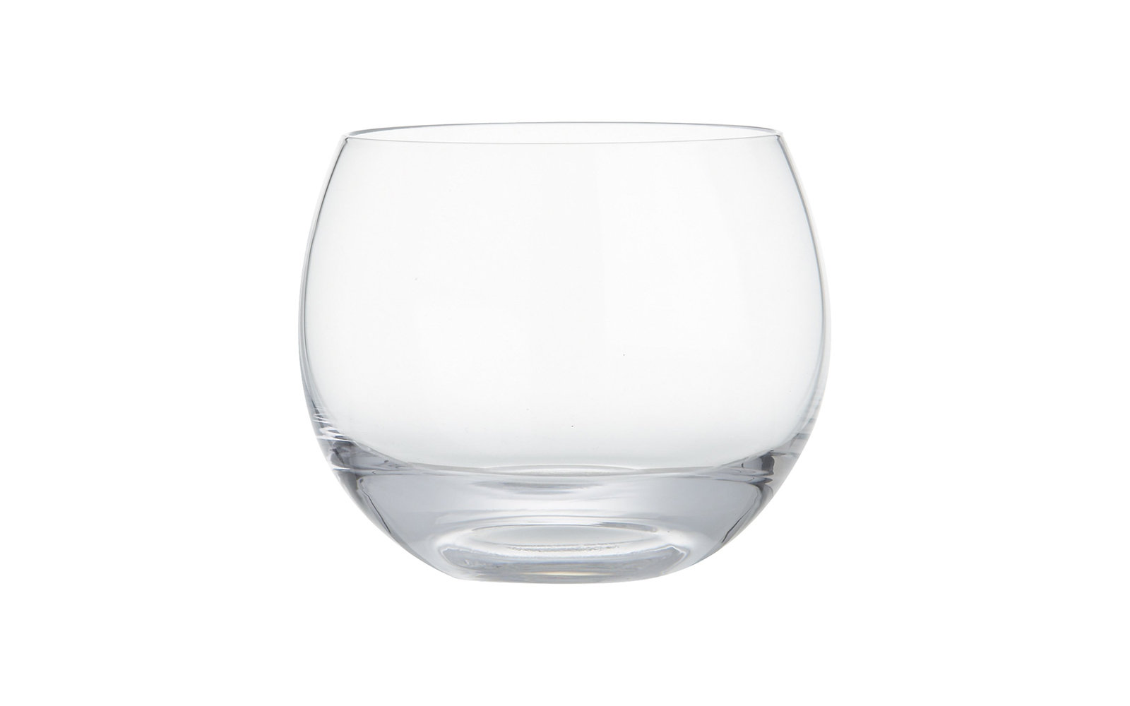 Crate and Barrel Harry Rocks Glass