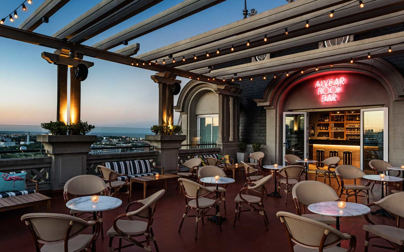 Alvear Roof Bar at the Alvear Palace in Buenos Aires