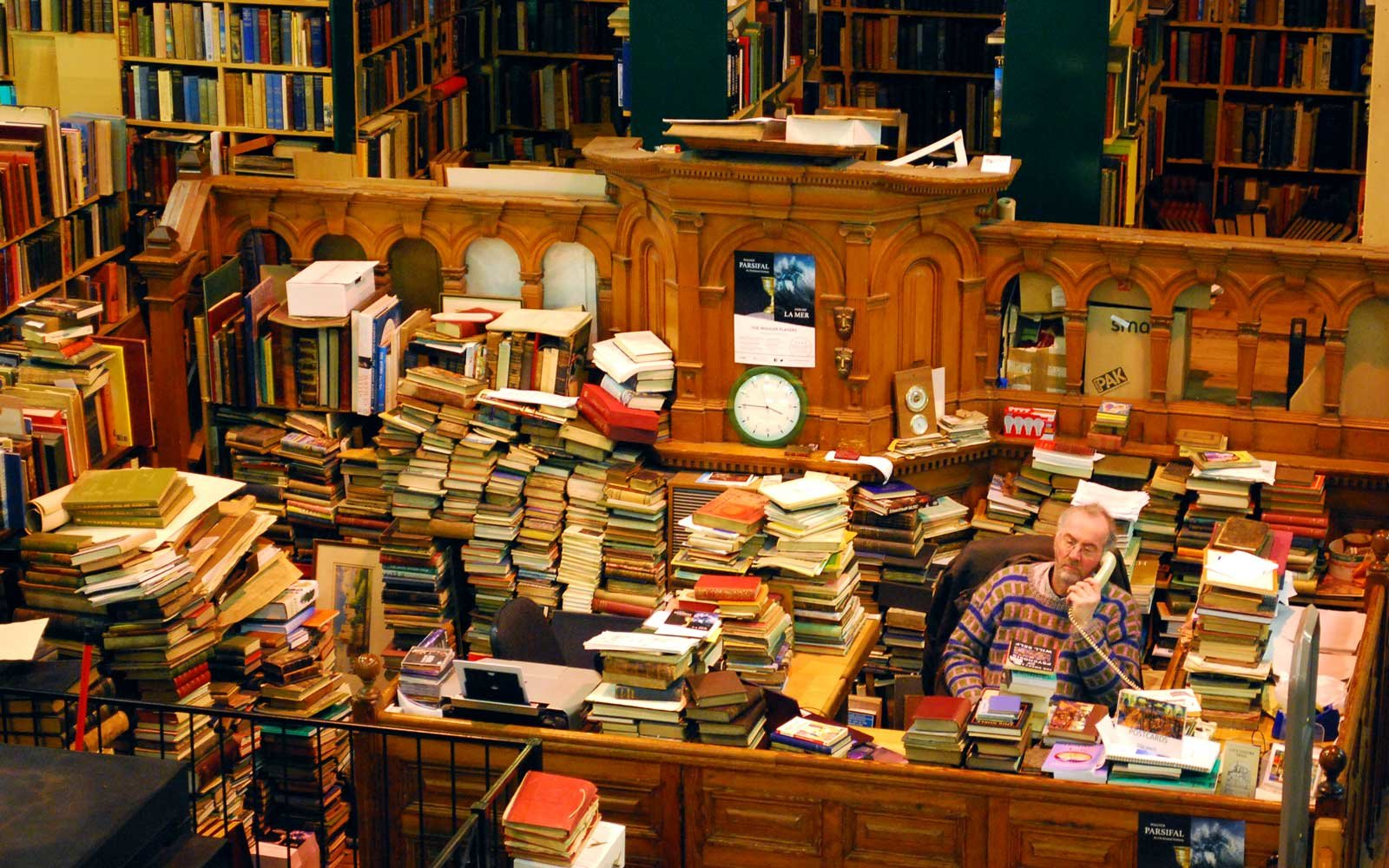 Leakey's Bookshop in Scotland