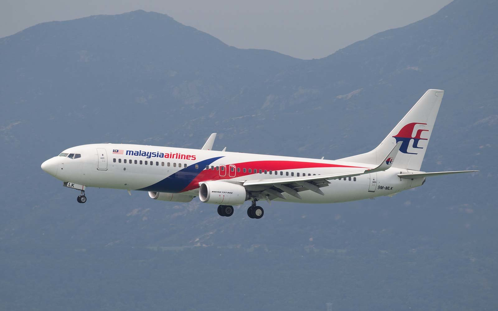Malaysia Airlines Boeing 737-800 airplane flight