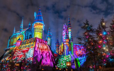 Christmas Time.You Won T Believe How Magical Harry Potter World Is At