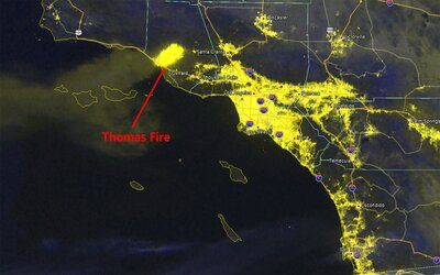 Map Of California Ventura.This California Wildfire Map Shows Where Fires Rapidly Spread