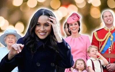 Royal Family Christmas.Here Are All The Royal Family Holiday Traditions Meghan