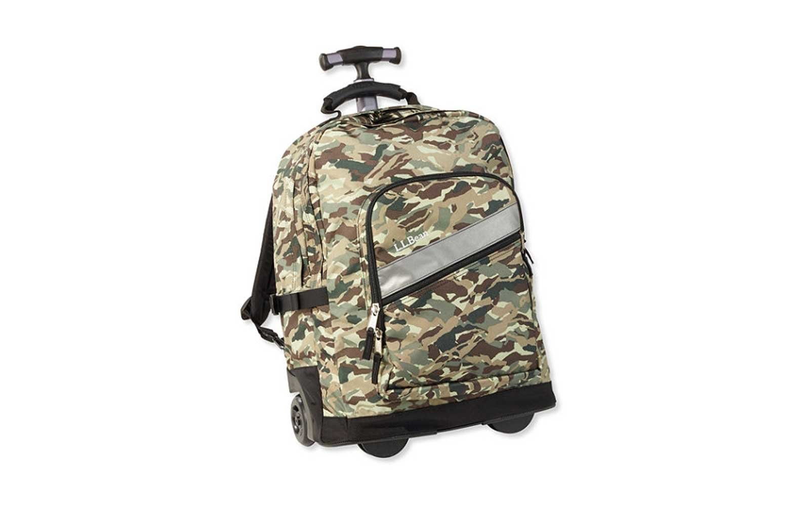 L.L. Bean deluxe rolling backpack