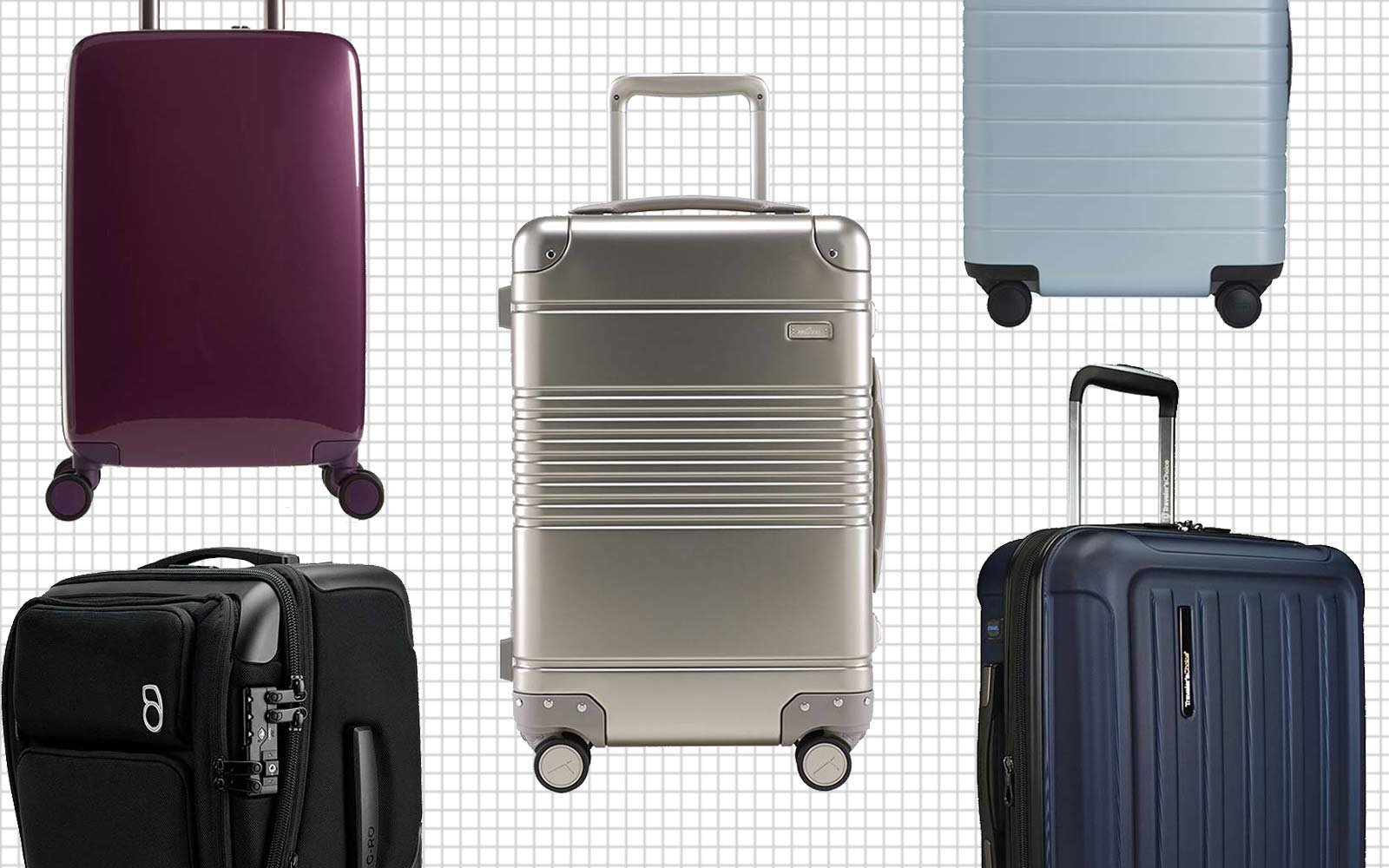 26bea2a4e3 6 Smart Suitcases That Won t Break Airlines  Battery Rules