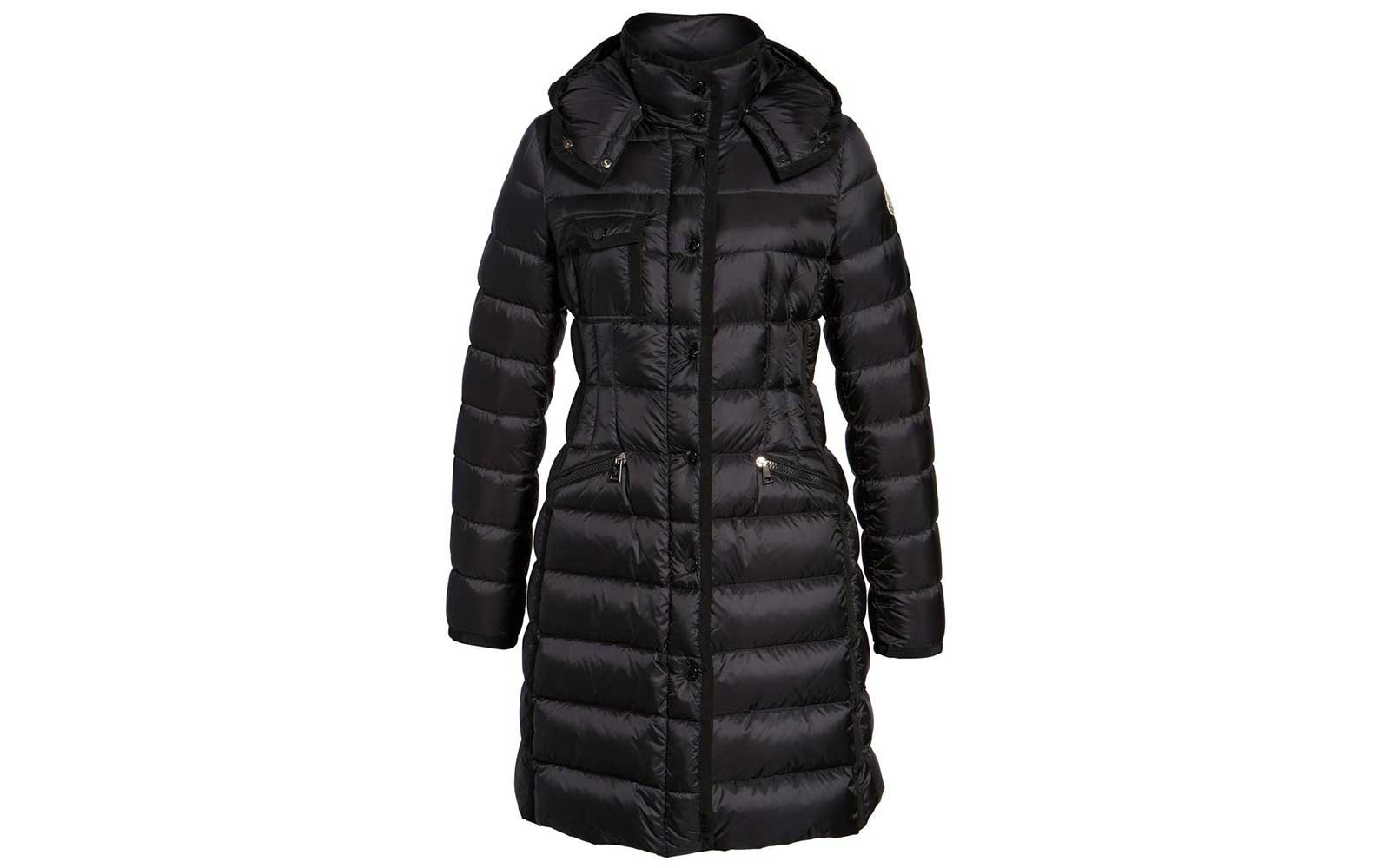 Luxury puffer coat by Moncler
