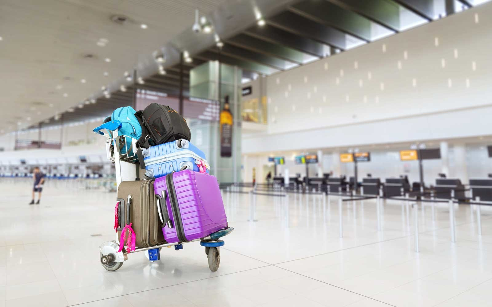 Airport luggage fees
