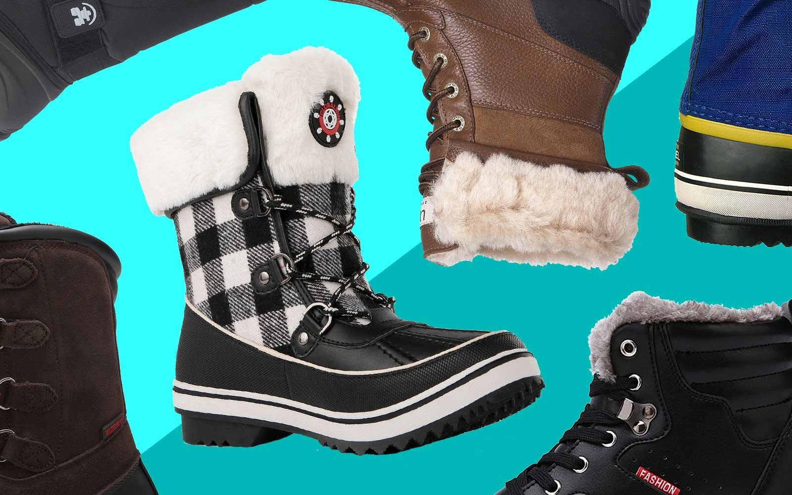 c3bfbc3efebd8 The Best Snow Boots You Can Get on Amazon | Travel + Leisure