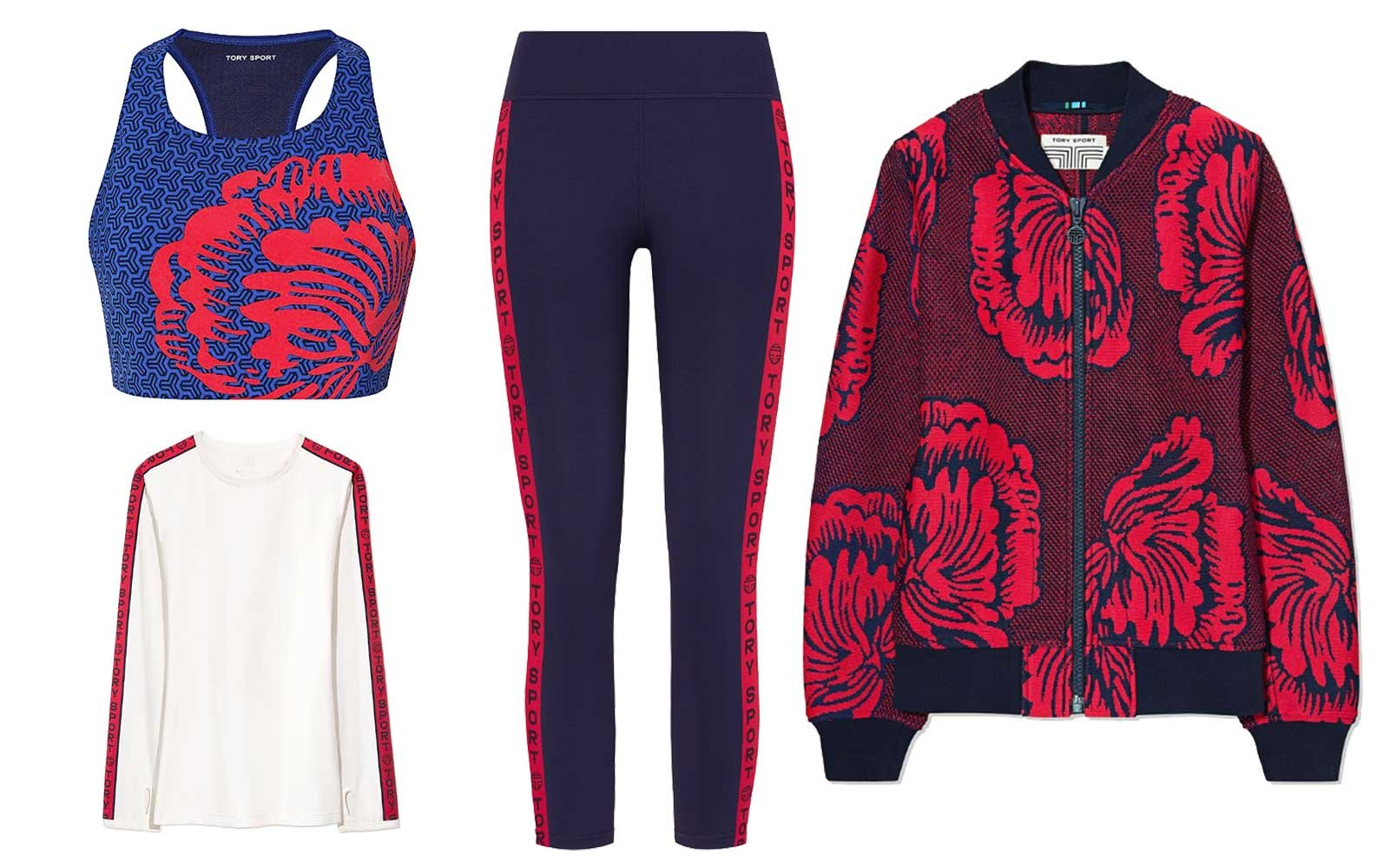 Tory Burch activewear collection