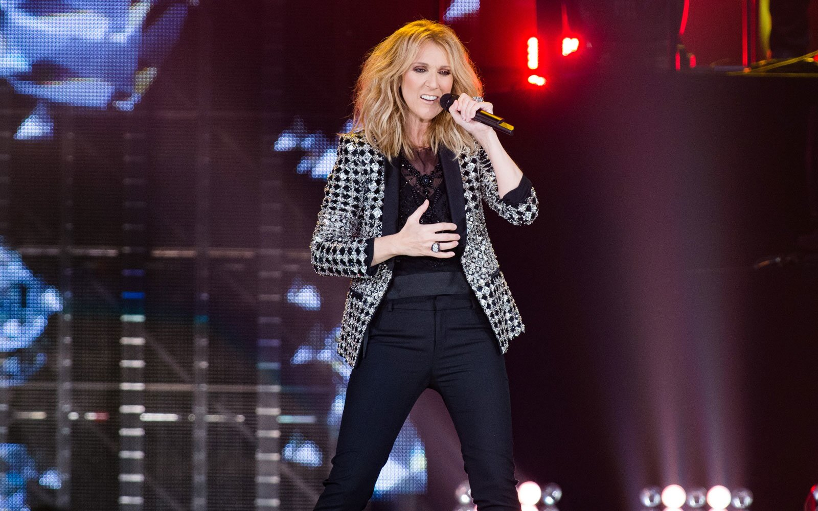 f1d520ec177 Céline Dion Has a Chic Luggage Line You Can Take Near