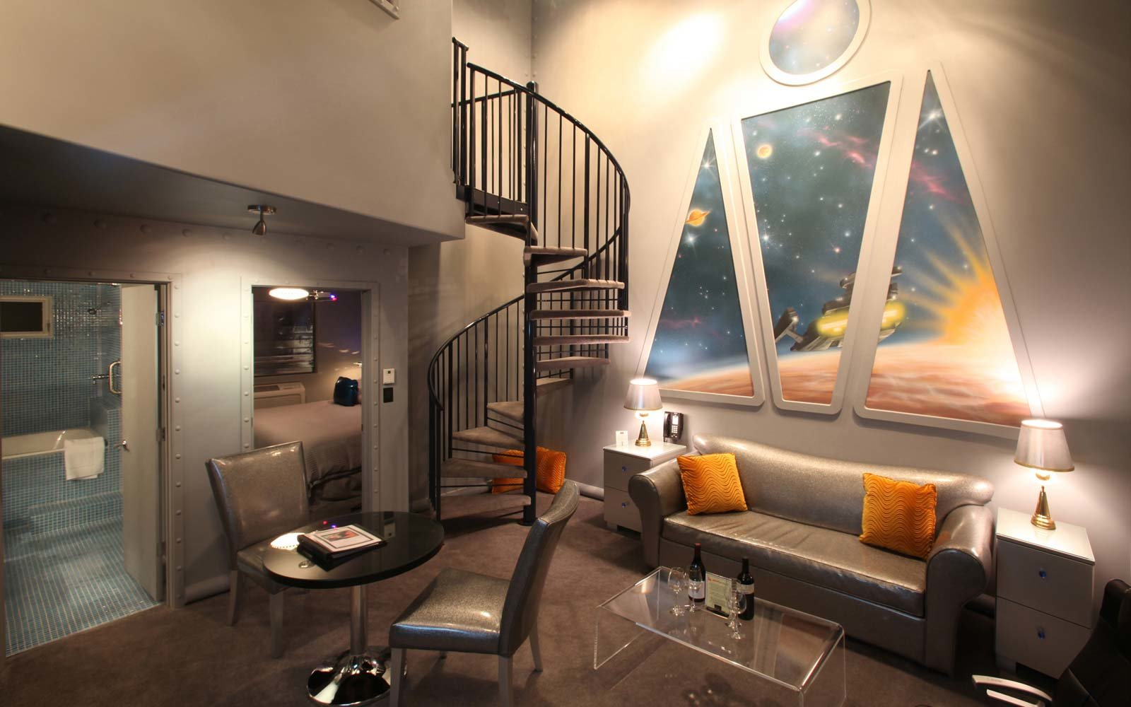 Movie Themed Hotels The Final Frontier Star Trek Roxbury Catskills