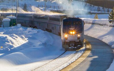 This Scenic 'Snow Train' in Colorado Takes Skiers Straight