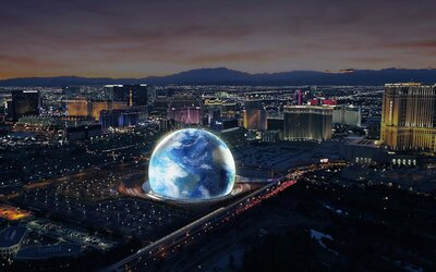 Sci Fi Las Vegas Events 2020.A Giant Space Orb Concert Venue Is Coming To Las Vegas In