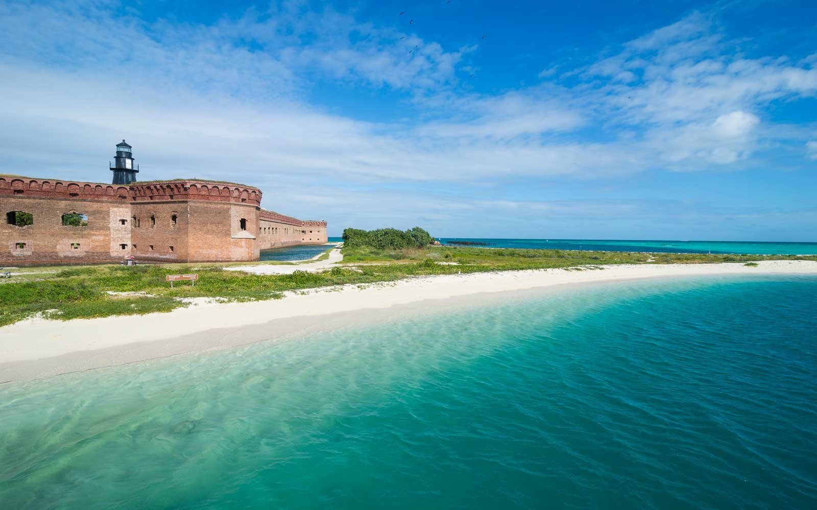 Fort Jefferson, Dry Tortugas National Park, Florida Keys, Florida