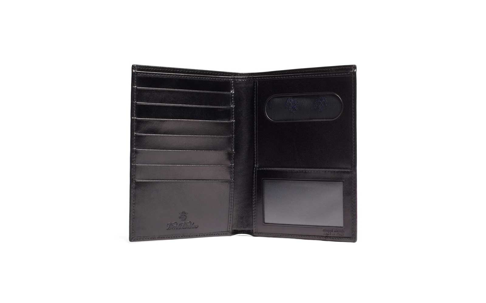 Brooks Brothers French Calfskin Passport Case