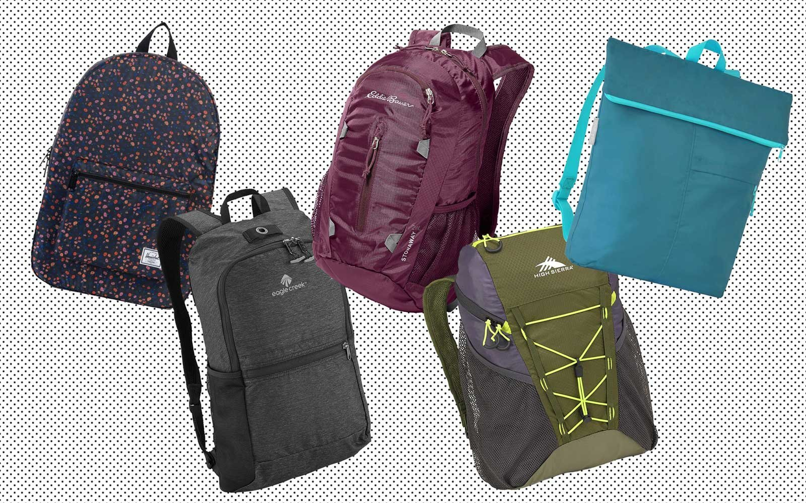 a5e2facb90 11 Packable Backpacks for Travelers Who Always Bring Home More Than They  Packed