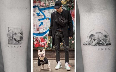 c519e363e Honor Your Fur-ever Friend With a Portrait Tattoo From This Amazing New  York City Artist