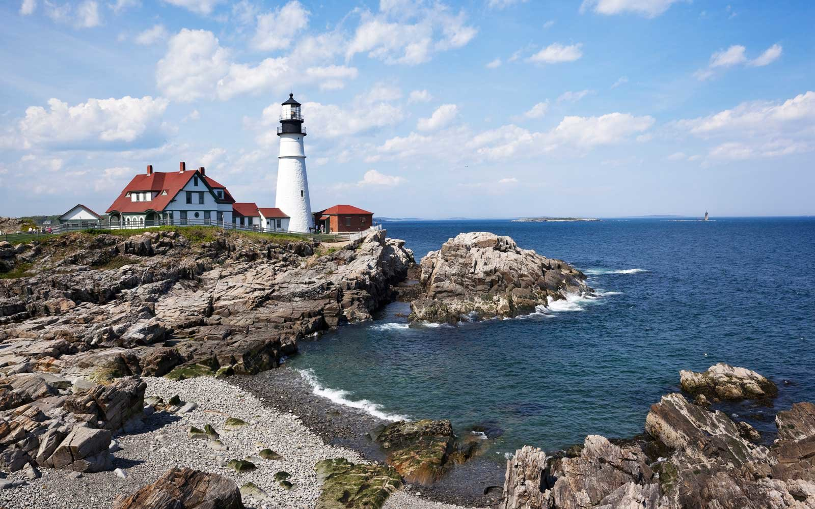 Completed in 1791, Portland Head Light is the oldest lighthouse in Maine and is located in Cape Elizabeth