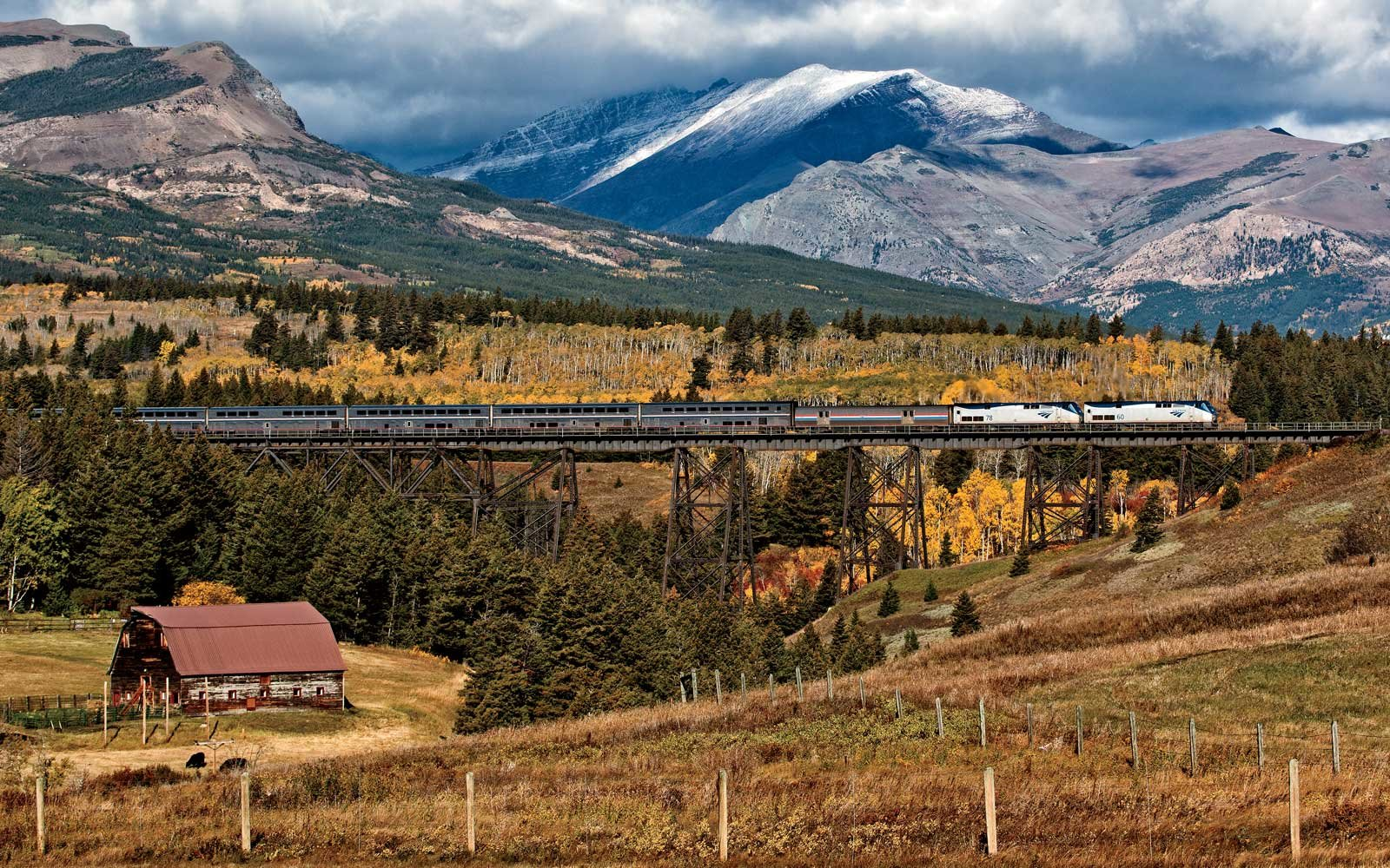 You Can See America's Most Stunning Sights By Purchasing a Single Amtrak Ticket