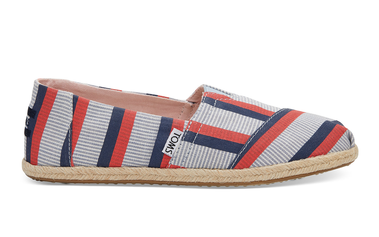 Clare V. Red Navy Stripe Women's Classics