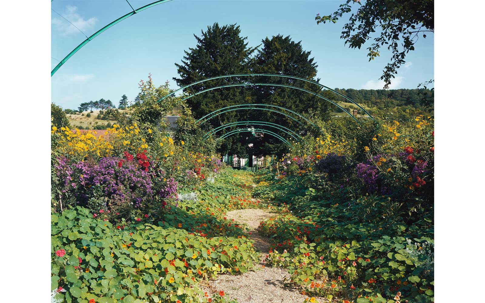 Stephen Shore, Giverny, France, 1981