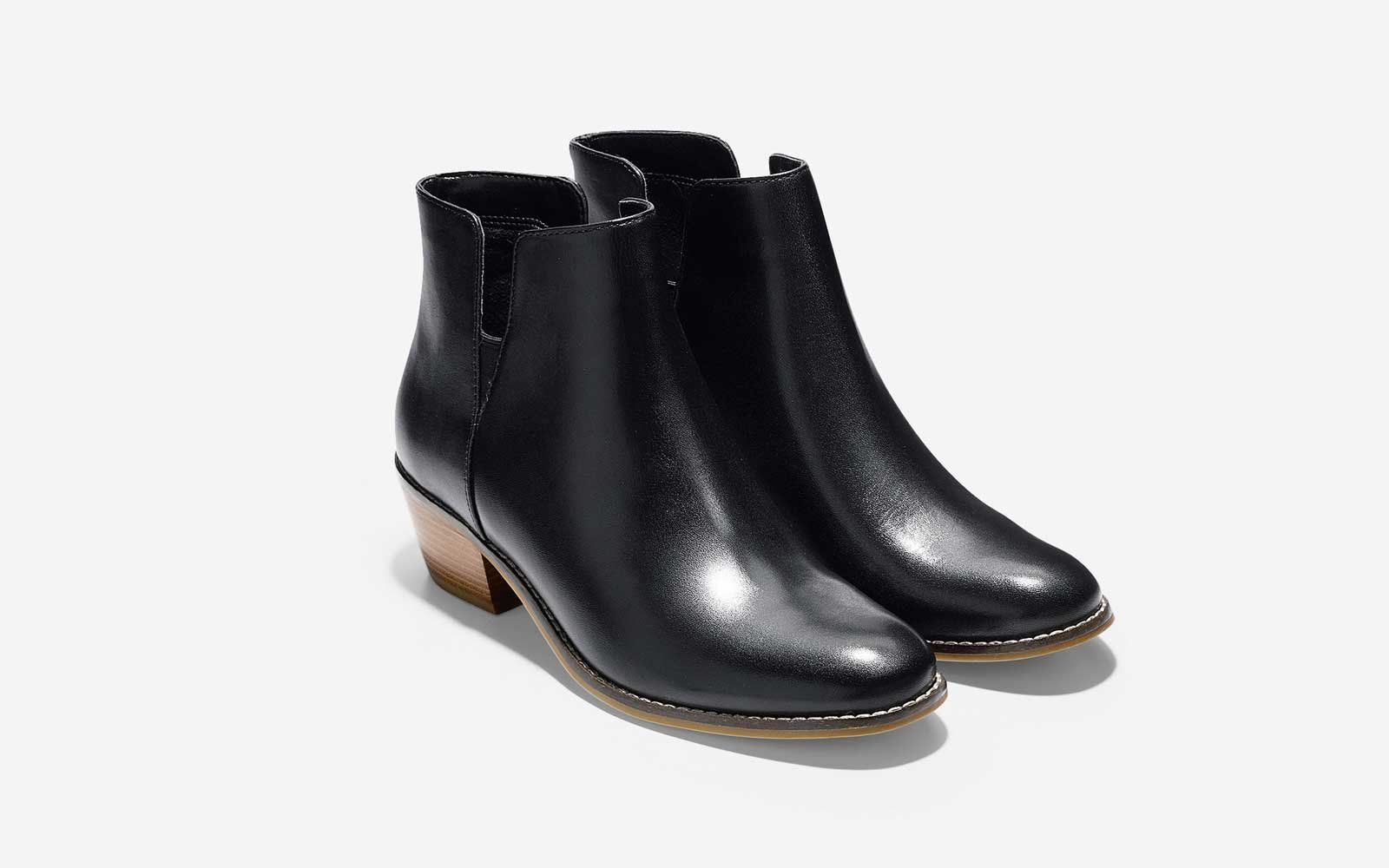 The Little Black Boot: 'Abbot' Bootie