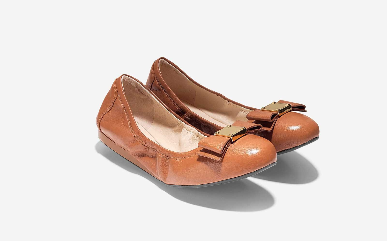 The Ballet Flat Made for Walking: 'Tali Bow' Ballet Flat