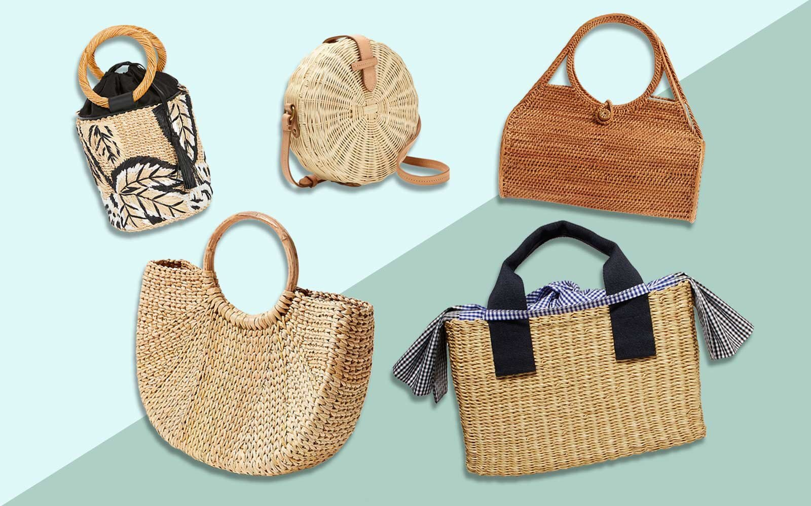 3c9762bcf94cd 17 Cute Straw Bags - Crossbody, Circle, and More | Travel + Leisure