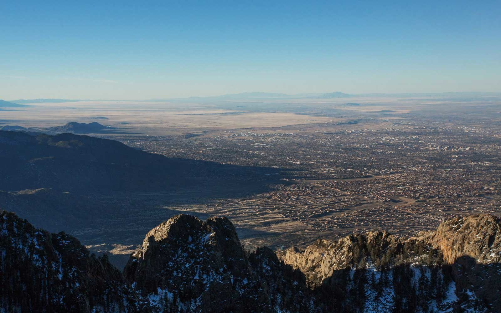 La Luz Trail Run in Albuquerque, New Mexico (August 5, 2018)