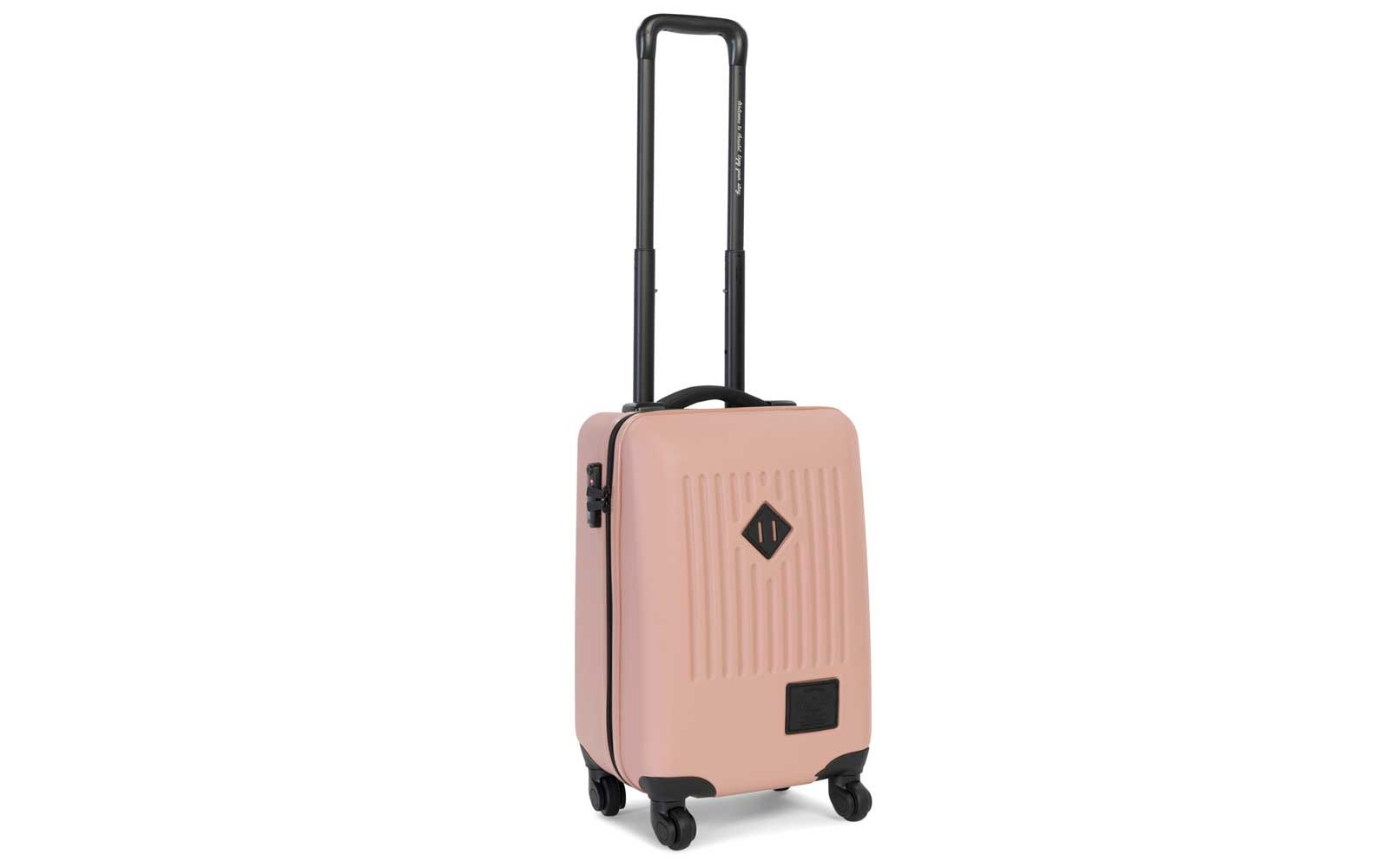 Herschel Supply Co. Hardshell Carry-on Suitcase in ash rose